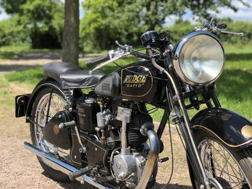 Rudge Rapid 1938 250cc  SOLD (picture 3 of 6)