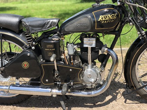 Rudge Rapid 1938 250cc  SOLD (picture 4 of 6)
