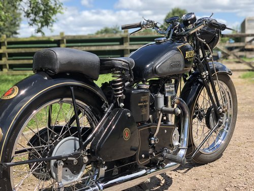 Rudge Rapid 1938 250cc  SOLD (picture 5 of 6)