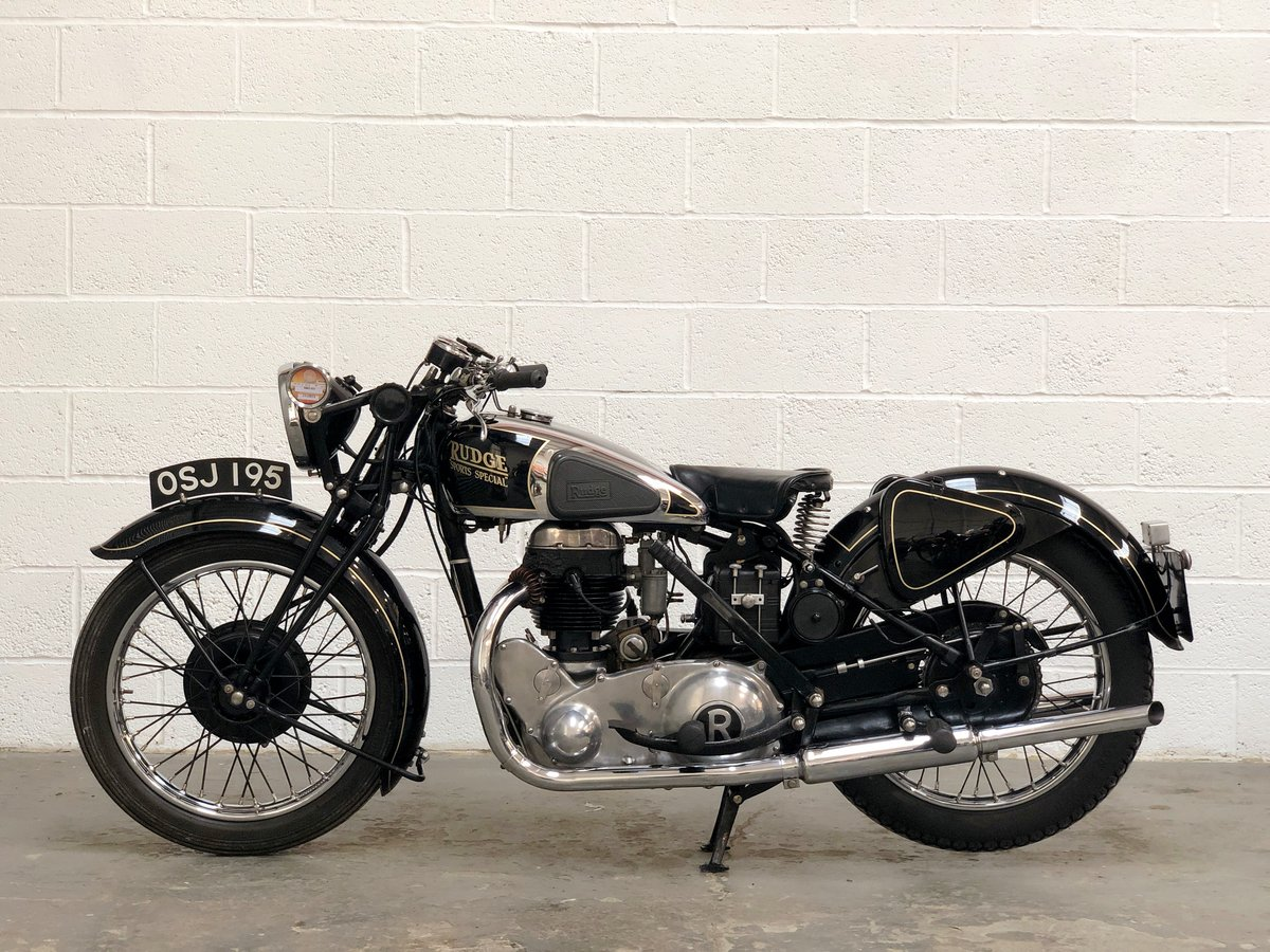 Pre-War 1938 Rudge Special 500cc OHV SOLD (picture 4 of 6)