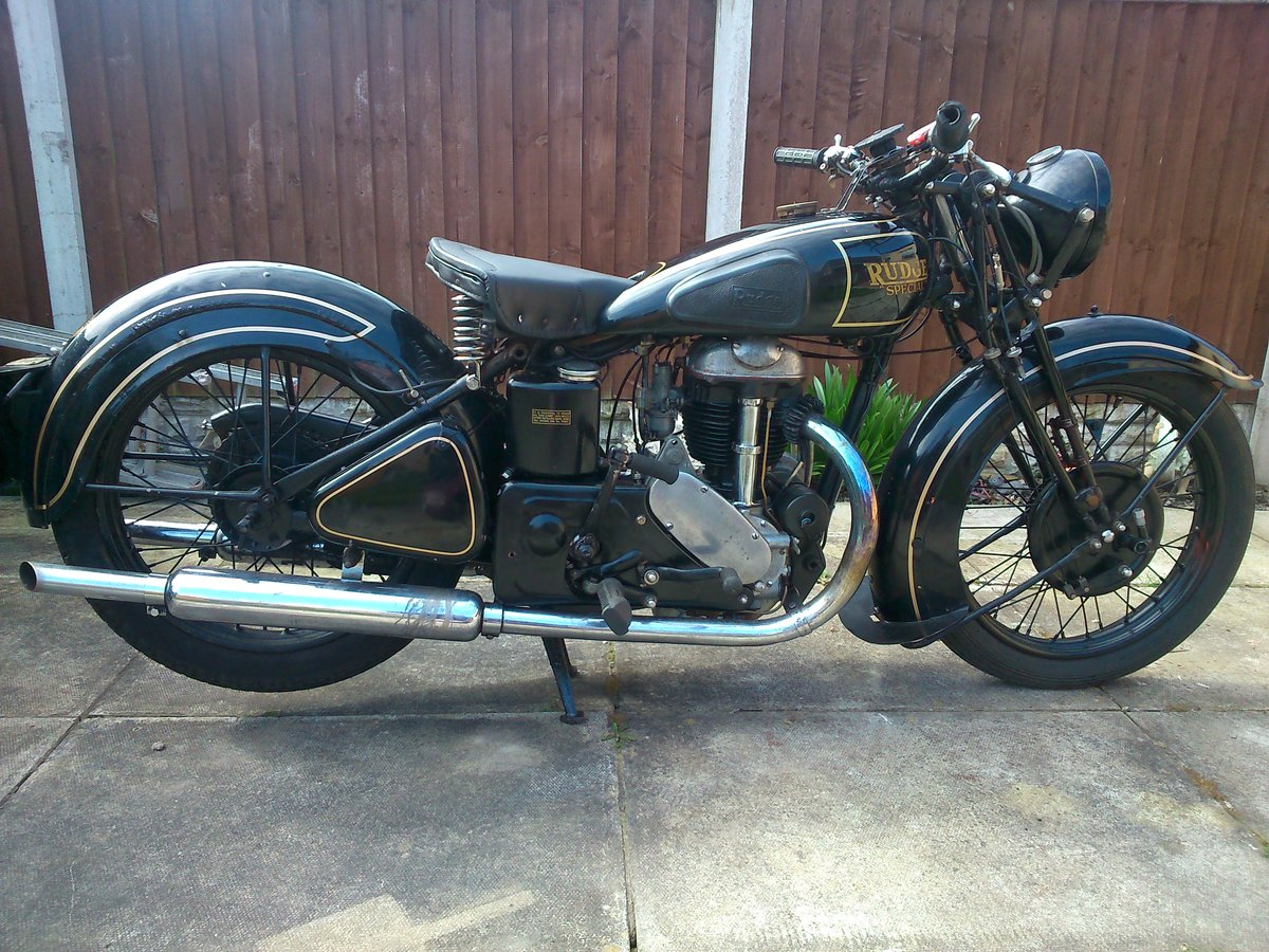 Rudge 500cc rudge special 1937 For Sale (picture 1 of 6)