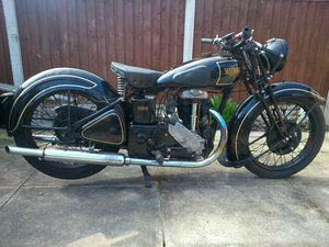 1937 Rudge 500cc rudge special