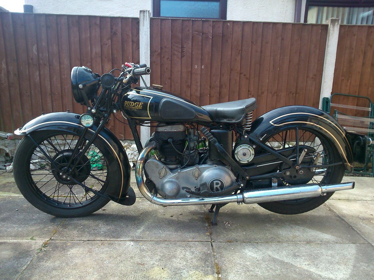 Rudge 500cc rudge special 1937 For Sale (picture 2 of 6)