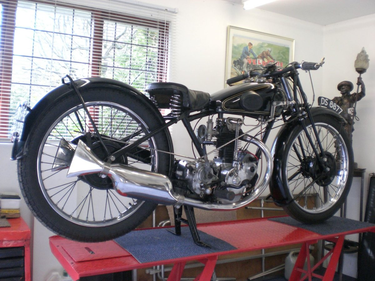 1929 Rudge 350 whitworth / fully restored For Sale (picture 1 of 6)
