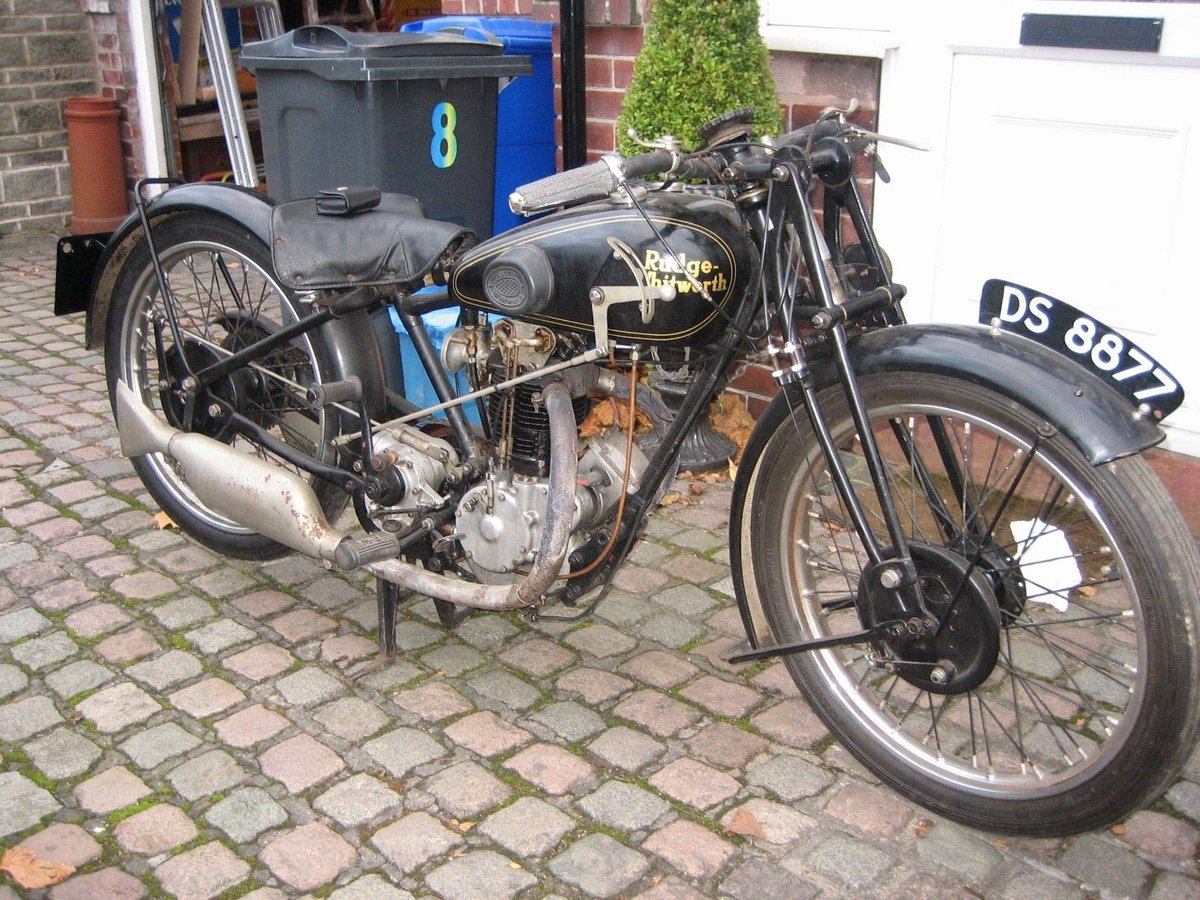 1929 Rudge 350 whitworth / fully restored For Sale (picture 2 of 6)