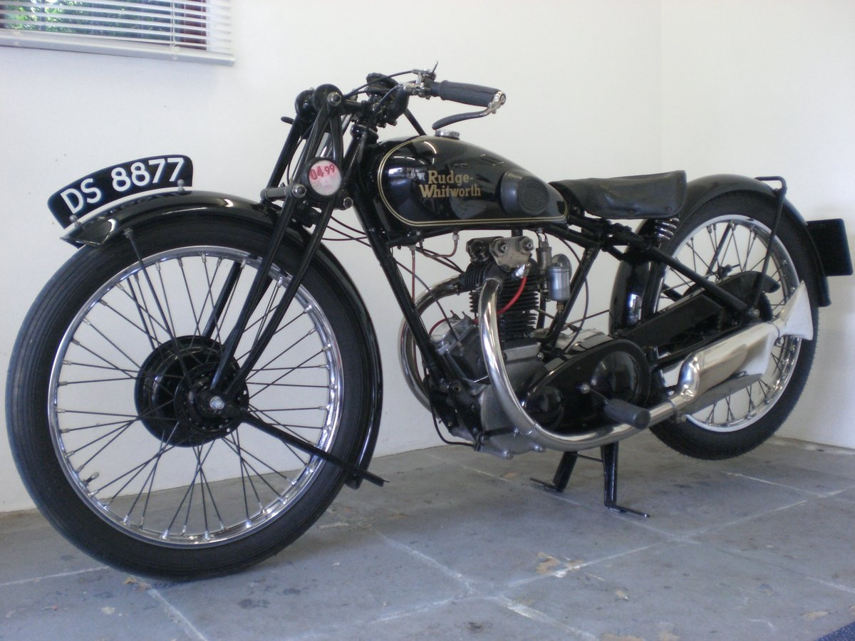 1929 Rudge 350 whitworth / fully restored For Sale (picture 3 of 6)