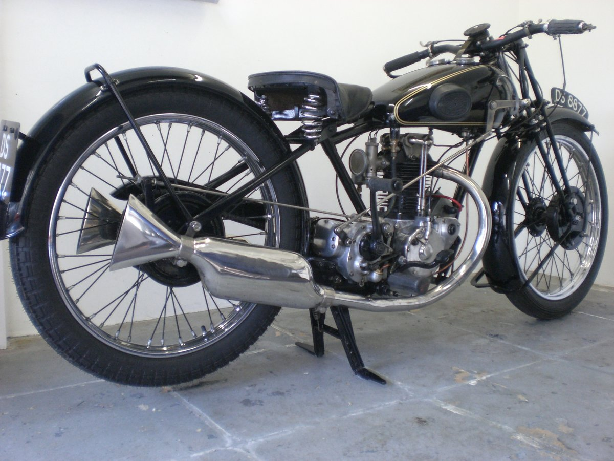 1929 Rudge 350 whitworth / fully restored For Sale (picture 5 of 6)
