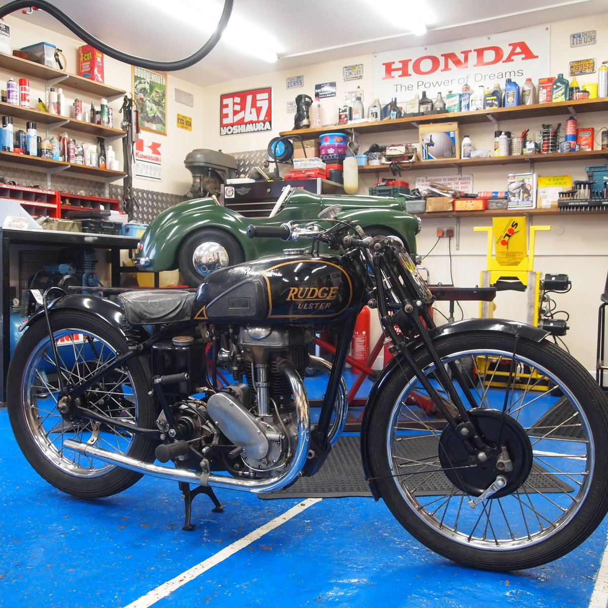 1938 Rudge Ulster 500 With Great Reg Number GZ 96. SOLD (picture 2 of 6)