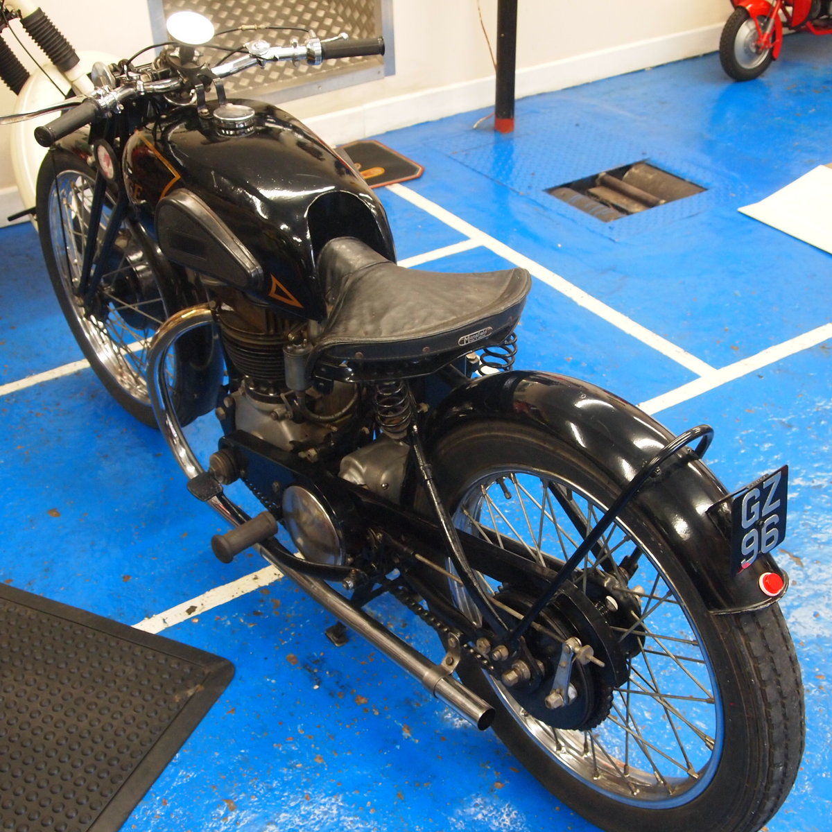 1938 Rudge Ulster 500 With Great Reg Number GZ 96. SOLD (picture 3 of 6)