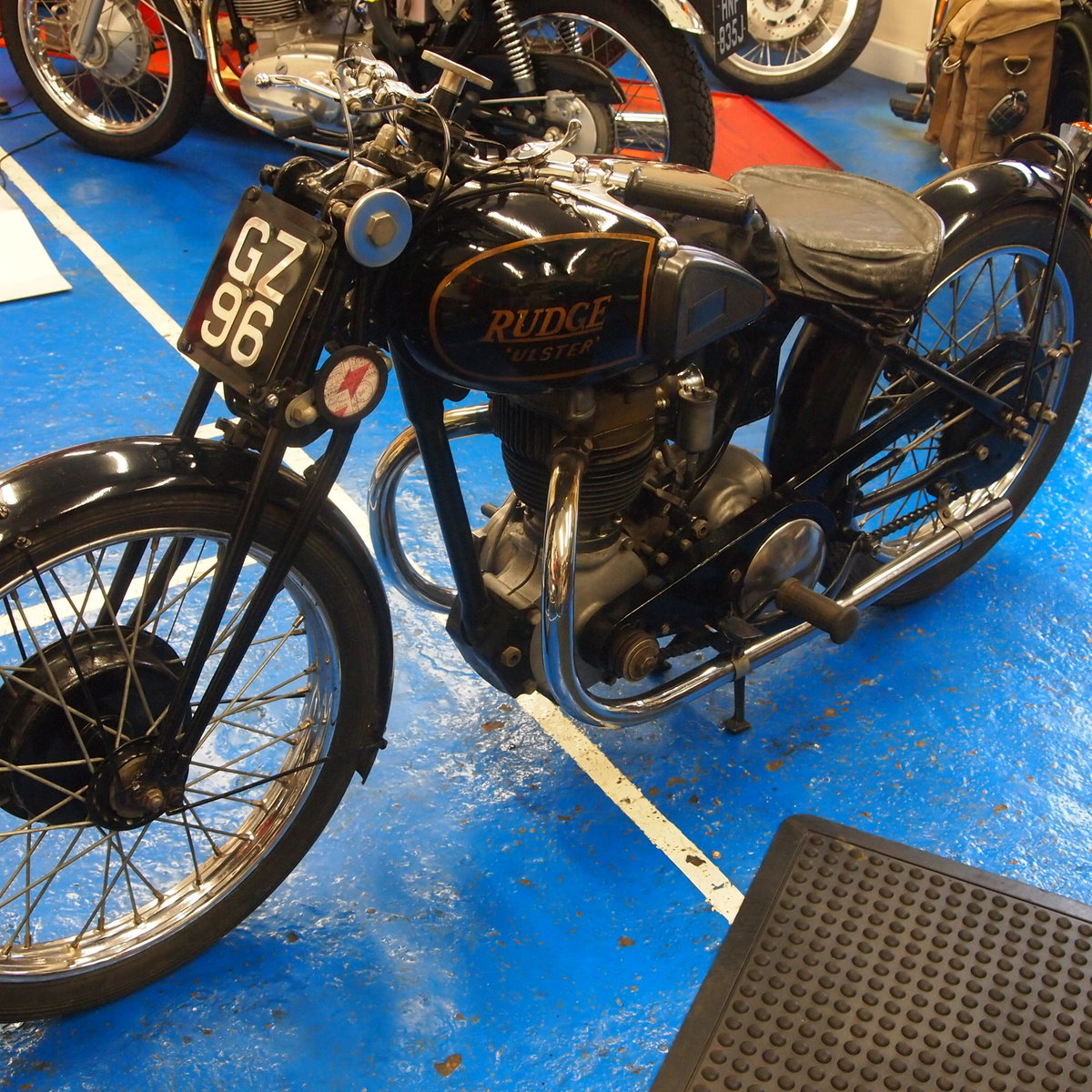 1938 Rudge Ulster 500 With Great Reg Number GZ 96. SOLD (picture 4 of 6)