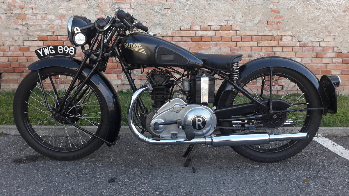 1936 Rudge 250 OHV Sports four valve For Sale (picture 1 of 6)