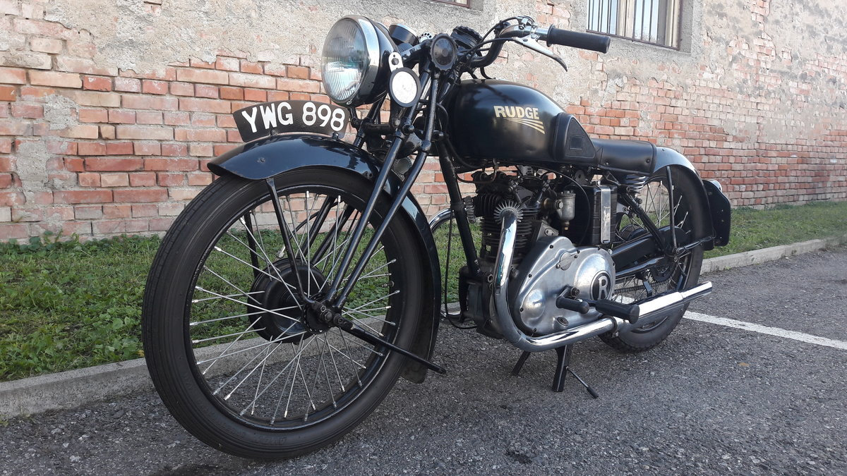 1936 Rudge 250 OHV Sports four valve For Sale (picture 5 of 6)
