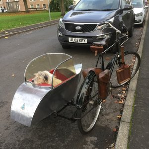 1926 Rudge bicycle and Watsonian Squire sidecar - Rare