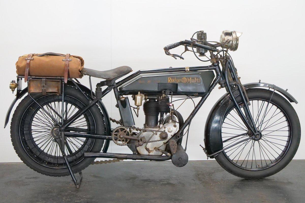 Rudge Multi 500cc 1919 1 cyl ioe For Sale (picture 1 of 6)