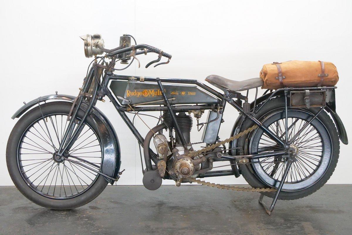 Rudge Multi 500cc 1919 1 cyl ioe For Sale (picture 2 of 6)