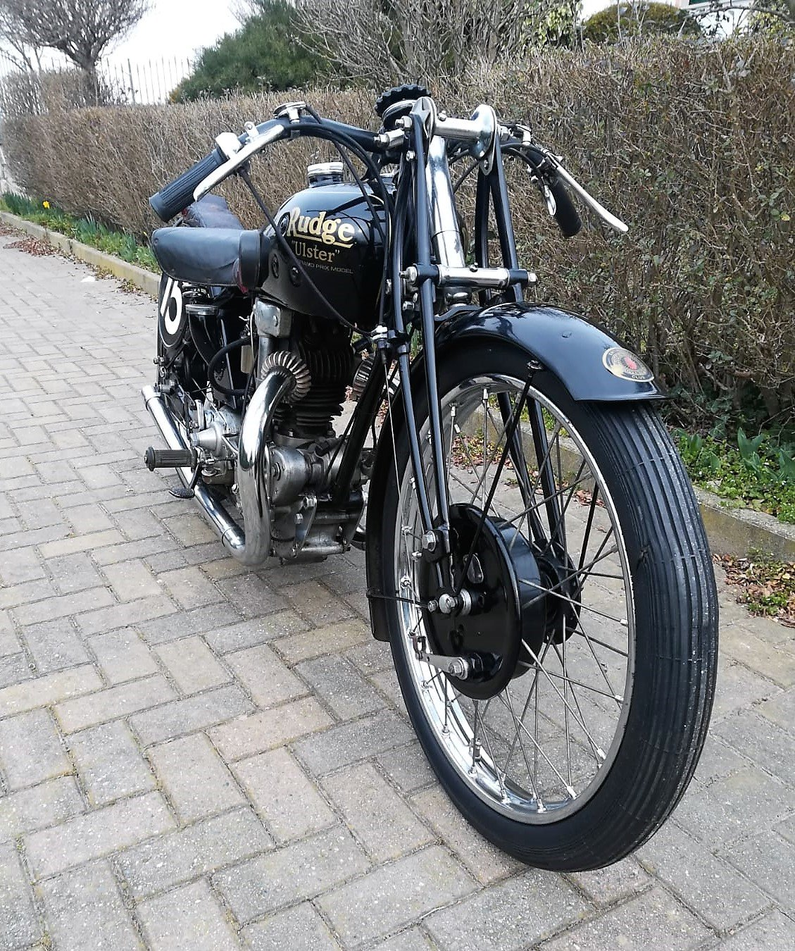1930 Rudge Ulster 500cc SOLD (picture 4 of 6)