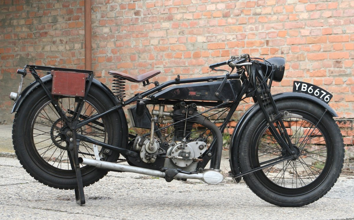 Rudge Standard 1927 500cc OHV 4 Valve For Sale (picture 1 of 6)