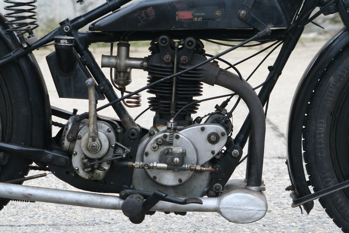 Rudge Standard 1927 500cc OHV 4 Valve For Sale (picture 2 of 6)