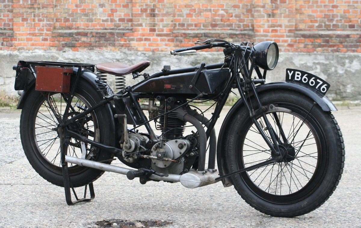 Rudge Standard 1927 500cc OHV 4 Valve For Sale (picture 3 of 6)