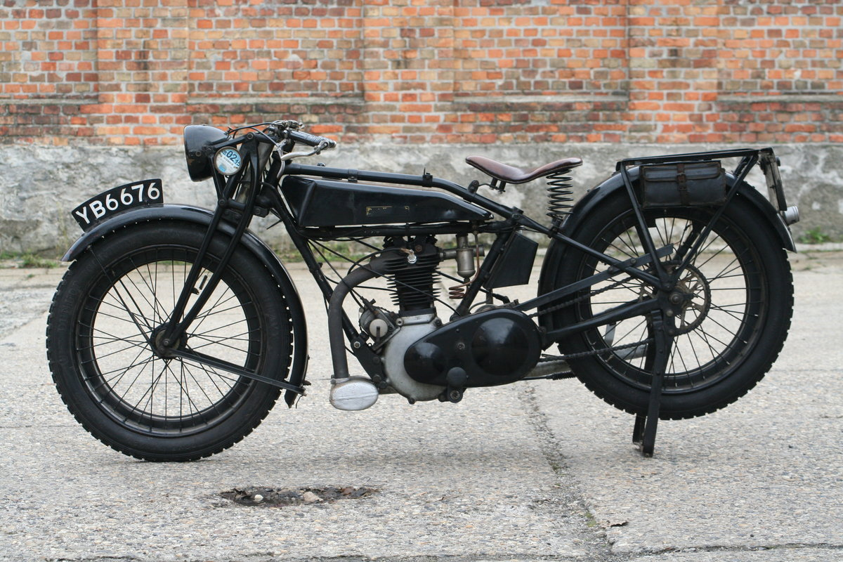 Rudge Standard 1927 500cc OHV 4 Valve For Sale (picture 5 of 6)