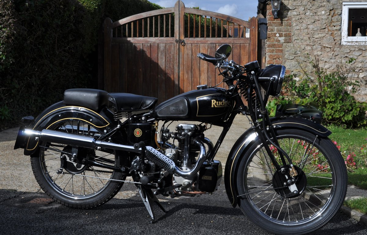 1934 RUDGE 250 RADIAL SPORTS SOLD (picture 1 of 3)