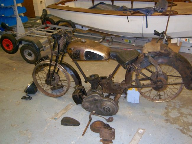 1934 RUDGE 250 RADIAL SPORTS SOLD (picture 3 of 3)