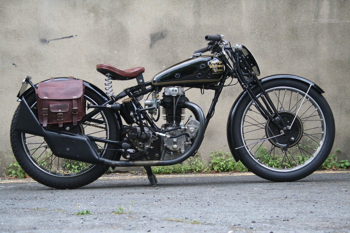 1930 Rudge Ulster Grand Prix, excellent For Sale (picture 1 of 6)