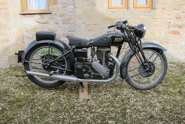 C.1939 RUDGE-WHITWORTH 499CC 'ULSTER' (LOT 331) SOLD by Auction (picture 1 of 1)