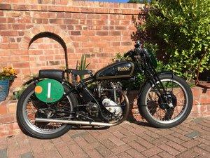 1934 Rudge 250cc 4-valve race bike