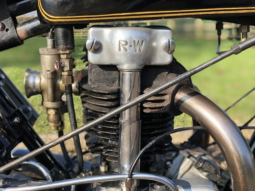 Rudge Ulster Grand Prix 1930 500cc SOLD (picture 5 of 6)