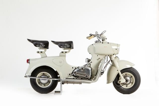 1956 RUMI 125CC FORMICHINO (LOT 669) SOLD by Auction (picture 1 of 1)