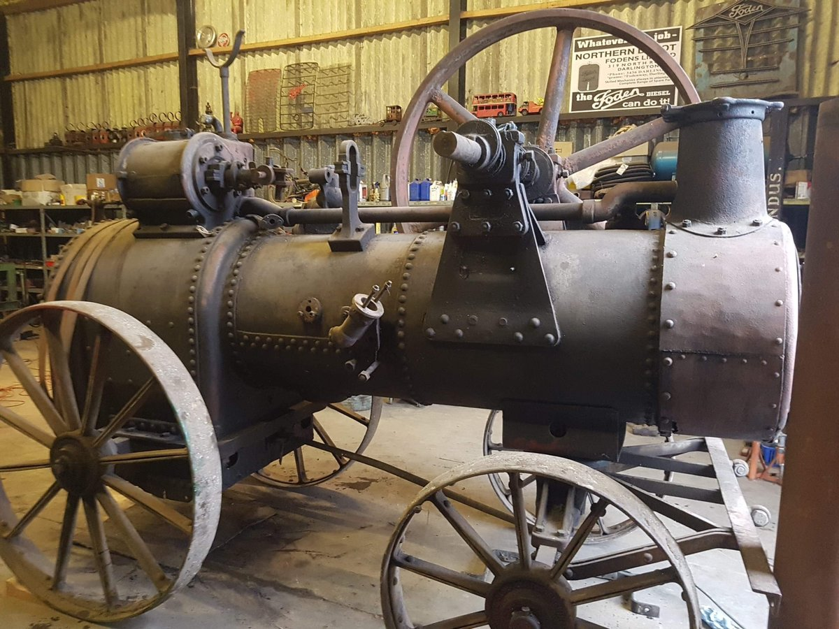 1895 Portable steam engine For Sale (picture 1 of 1)