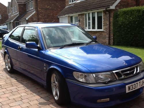 Saab 9-3 viggen 2000 with BRC lpg conv For Sale (picture 1 of 2)