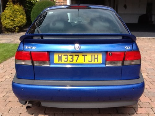 Saab 9-3 viggen 2000 with BRC lpg conv For Sale (picture 2 of 2)