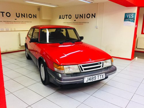 1991 SAAB 900 TURBO AERO For Sale (picture 1 of 6)