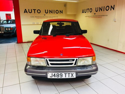 1991 SAAB 900 TURBO AERO For Sale (picture 3 of 6)