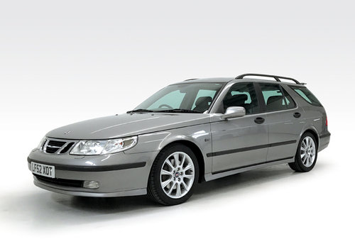 2002 Saab 9-5 2.3 HOT Aero estate just 19,000 miles, 1 owner SOLD (picture 1 of 6)