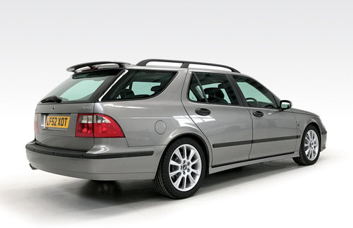 2002 Saab 9-5 2.3 HOT Aero estate just 19,000 miles, 1 owner SOLD (picture 2 of 6)