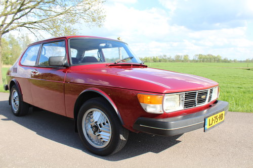 1984 Saab 99 2.0 ltr 5-speed low miles since renovation LHD For Sale (picture 1 of 6)