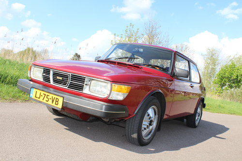 1984 Saab 99 2.0 ltr 5-speed low miles since renovation LHD For Sale (picture 6 of 6)