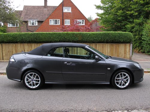SAAB 93 VECTOR SPORT TTiD 180 CONVERTIBLE 2009/59 33000m FSH SOLD (picture 1 of 6)