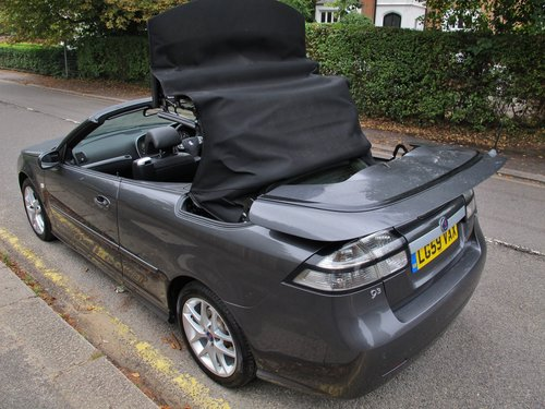 SAAB 93 VECTOR SPORT TTiD 180 CONVERTIBLE 2009/59 33000m FSH SOLD (picture 5 of 6)