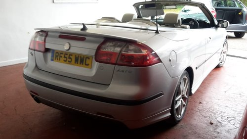 2005 SAAB 93   2,0 LTR  CONVERTIBLE  LOW MILES SOLD (picture 2 of 6)