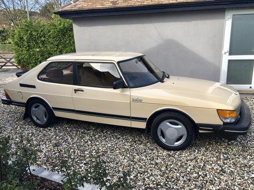 1985 Saab 900 Turbo 16v For Sale
