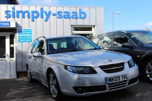 2009 Saab 9-5 1.9 Tid Auto Turbo Edition SOLD (picture 6 of 6)