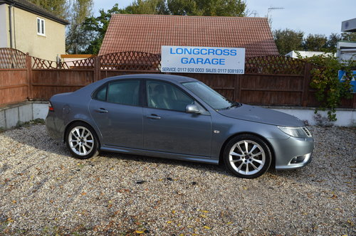2009 Saab 9-3 1.9 TTiD Aero 4dr MANUAL DIESEL LEATHER For Sale (picture 1 of 6)