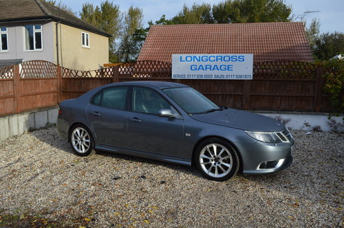 2009 Saab 9-3 1.9 TTiD Aero 4dr MANUAL DIESEL LEATHER For Sale (picture 2 of 6)