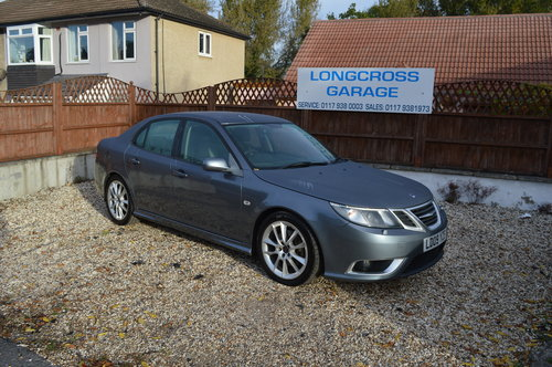 2009 Saab 9-3 1.9 TTiD Aero 4dr MANUAL DIESEL LEATHER For Sale (picture 3 of 6)