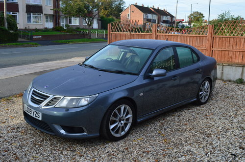 2009 Saab 9-3 1.9 TTiD Aero 4dr MANUAL DIESEL LEATHER For Sale (picture 4 of 6)