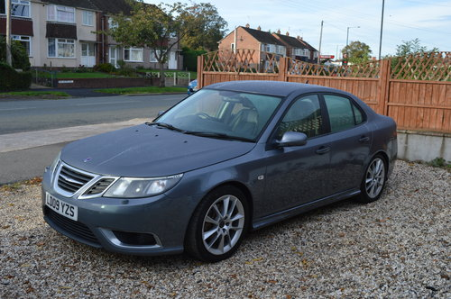 2009 Saab 9-3 1.9 TTiD Aero 4dr MANUAL DIESEL LEATHER For Sale (picture 5 of 6)